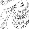 Je me remet tt doucement au dessin :3. Voilà un des themes que j'aime bien: les belles femmes fatales :p.